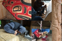 Artists in Residence - Chilkat Carvers